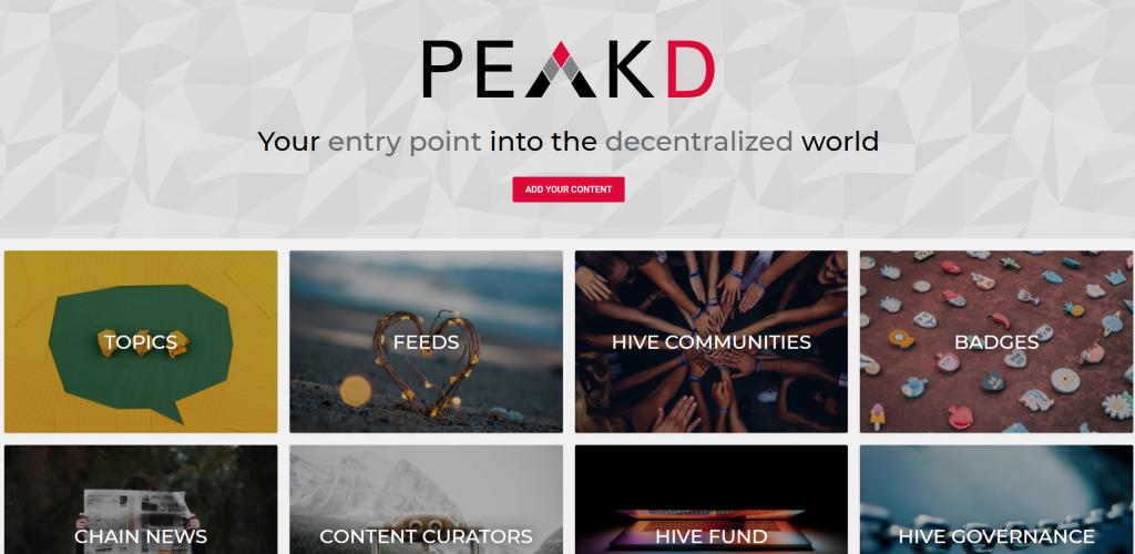 PeakD.com blogging platform
