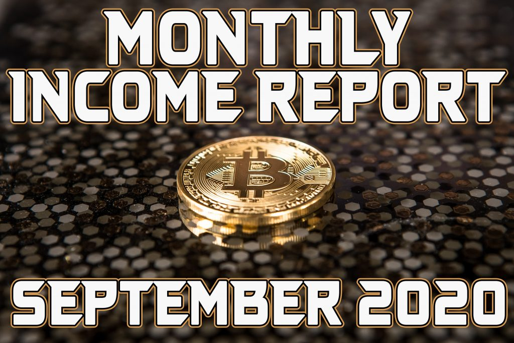 Monthly Income Report for September