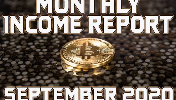 Monthly Income Report September 2020