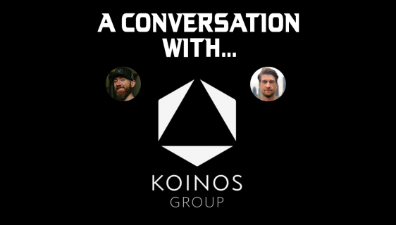 A conversation with KOINOS