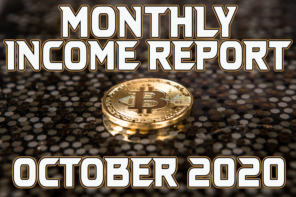 Monthly Income Report for October