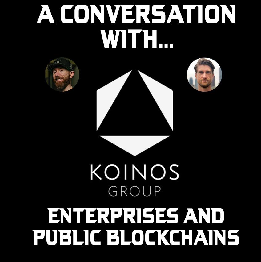 Companies use a public blockchain