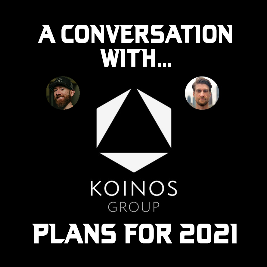 KOINOS plans for 2021