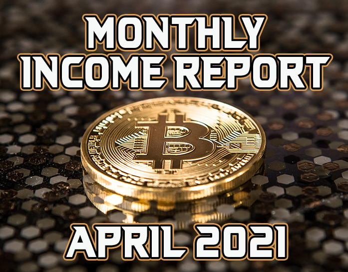 Monthly Income Report for April