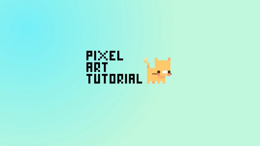 Pixel Art Tutorial - Tiny Cat